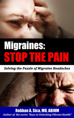 Migraines: Stop the Pain, Headache, Robban A SIca, MD, Center for the Healing Arts PC